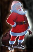 панно «Дед Мороз»