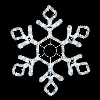 Снежинка световая