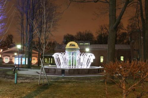 световой фонтан, музей Водоканала